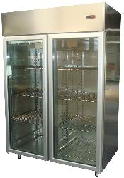 Stainless Steel Upright Refrigerator